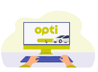 Online taxi order Opti in Dnipro