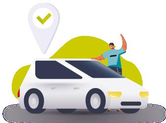 Online taxi order Opti in Chernivtsi