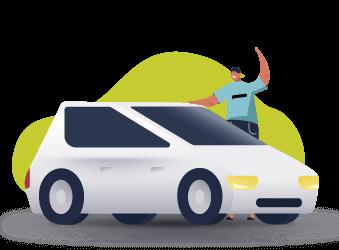Водій на своєму авто — наш партнер!
