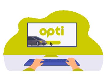 Онлайн-заказ такси Opti в Одессе