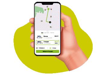 Online taxi order Opti in Kharkov